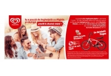 5 x bicicleta Pegas Strada, 50 x kit de vara Algida, 1000 x inghetata Cornetto Strawberry