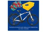 100 x bicicleta Pegas, 1000 x cutie de produse, 1000 x card cadou DM