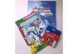 1 x premiu format din carticele pentru copii si creioane de colorat