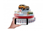 3 x mașina Dacia Duster, 17 x voucher de calatorie in Romania de 4600 ron, 70.3844 x voucher Carrefour de 10 ron, 70.000 x voucher Carrefour de 5 ron, 384 x voucher Carrefour de 20 ron, 384 x voucher Carrefour de 30 ron,