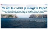 1 x vacanta pentru doua persoane in Sorrento - Italia (7 nopti de cazare la hotel de 3* sau 4* in Sorrento + excursie de o zi in Capri + transport avion  Bucuresti - Napoli si retur + transfer Napoli-Sorrento si retur)