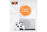 1 x Consola Microsoft Xbox One Slim 500 GB Blu-Ray 4K video streaming 4K & HDR
