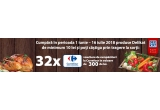 32 x voucher de cumparaturi Carrefour de 300 ron