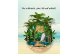 1 x excursie in Bali, 84 x Borseta, 84 x Tricou, 84 x Palarie, 84 x Voucher sausicon, 84 x Voucher activ snack