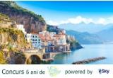 1 x calatorie spre Napoli/ Roma sau Positano de 4200 de lei