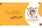 25 x Invitatie pentru 2 persoane la BABY EXPO