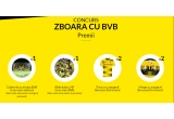 1 x Calatorie cu echipa BVB la un meci selectat (bilet + hotel + zbor pentru o singura persoana), 1 x Bilet dublu VIP la un meci BVB (bilet + hotel + zbor pentru 2 persoane), 2 x Tricou cu autograf Borussia Dortmund, 2 x Minge cu autograf Borussia Dortmund