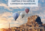 1 x Excursie in Cappadochia - Turcia cu pensiune completa + plimbare cu balonul cu aer cald + diurne pentru 2 persoane de 140RON/persoana pe zi, 30 x eBook Reader New Kindle Glare 6, 100 x voucher la libraria Carturesti de 119 lei