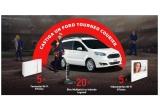 1 x masina Ford Tourneo Courier Trend 1.0 EcoBoost 100 CP M5, 20 x Bloc Multipriza Mobil Vertical 4x2P+T 2xUSB incarcator wireless prin inductie negru-aluminiu, 5 x Termostat wi-fi cu montaj aparent, 5 x Kit VideoInterfon Wi-Fi Classe300X13E: post exterior si post interior