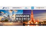 2 x 2 bilete dus-intors la clasa Economy catre Bangkok/ Madrid, instant: 2.000/4.000 Mile Premiu prima plata cu cardul la comerciant