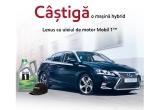 1 x mașina Lexus Hybrid CT200h, instant: șapca Mobil 1