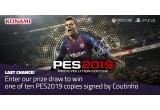 5 x joc Konami pentru PS4 semnat de Coutinho, 5 x joc Konami pentru Xbox One semnat de Coutinho