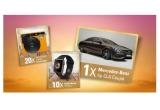 20 x aparat foto instant Leica Sofort, 10 x Apple watch series 3, 1 x masina Mercedes-Benz CLA Coupe