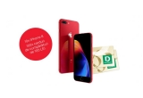 10 x iPhone 8 Red 64GB, 100 x voucher Deichmann de 100 ron