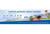 6 x excursie pentru doua persoane in Romania, 60 x coș cu produse Unilever