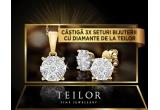 3 x set de bijuterii Teilor cu diamante in valoare de 3421 lei