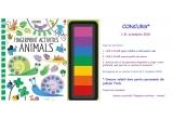 1 x cartea Fingerprint Activities Animals