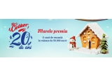 1 x casa in valoare de 50.000 euro, 4 x Vacanța de 1.000 Euro pentru 2 persoane, 15 x kit de calatorie  include 2 trolere de dimensiuni diferite