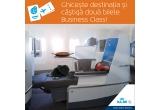 1 x bilet de avion dus-intors la Business Class pentru 2 persoane pe ruta București - New York