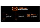 1 x 5000 euro, 4 x smartphone Samsung Galaxy Note 9, 200 euro pentru realizarea prototipurilor pentru proiectele care obțin minim nota 3