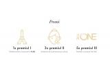 1 x weekend pentru 2 persoane la Paris, 3  x Schimbare de look - Machiaj si coafura, 5 x Pachet cu produse The ONE