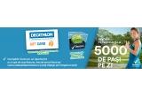 5 x Voucher Decathlon de 100 Euro, 5 x minge de tenis semnata de Simona Halep