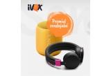 1 x Boxa portabila Sony SRSXB10, EXTRA BASS Bluetooth NFC Wi-Fi rezistenta la stropire + pereche de caști TEB wireless cu Bluetooth