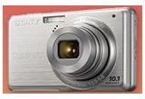 un aparat foto digital Sony DSC-S950S<br />