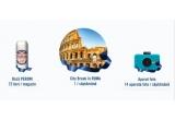 14 x City break Roma, 140 x Aparat foto, 72000 x Doza bere Peroni Nastro Azzurro 500 ml