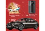 1 x masina BMW 420d xDrive Gran Coupe, 2 x excursie de 2 persoane in Maldive, 10 x proiector portabil smart Anker Nebula Capsule