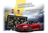 1 x masina Tesla S, 11 x scuter electric, 99 x trotineta