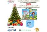 1 x premiu constand in 2 carti pentru copii oferite de Editura Integral + ceas digital cu lumini ambientale data si alarma