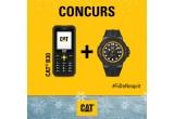 1 x telefon CAT B30 + ceas CAT rezistent la apa
