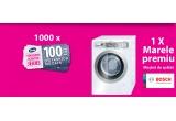 1000 x Voucher Fashion Days de 100 ron, 1 x Masina de spalat rufe automata Bosch HomeProfessional WAY32891EU