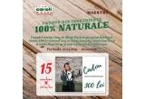 15 x voucher Verlinne Natural Artizanal de 300 lei
