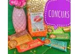 1 x pachet de linte rosie si batoane raw vegane Quin BItes + premiu surpriza