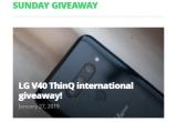 1 x smartphone LG V40 ThinQ