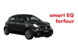 1 x masina Smart Forfour Electric