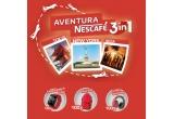 1 x vacanta/aventura NESCAFÉ 3in1 in Tokyo-New York-Ibiza, 10 x smartwatch, 100 x casti wireless, 100 x rucsac