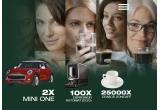 1 x masina Mini One XP 91, 100 x espressor Doncafe EGO, 25000 x Ceasca Doncafe