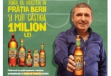 1 x 1.000.000 lei, 1000 x lada cu bere, 1000 x set de table, 1.000.000 x sticla Holsten Pilsner PET 0.5L