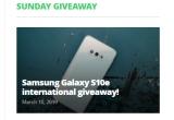1 x smartphone Samsung Galaxy S10e