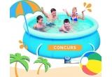 1 x piscina gonflabila Bestway 244 x 66cm cu pompa de recirculare