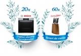 20 x cuptor electric Bosch incorporabil, 60 x Set de cuțite Jamie Oliver