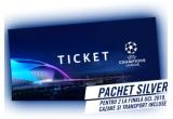 1 x experienta finala UEFA Champions League pentru 2 persoane, 100 x voucher eMAG de 200 lei
