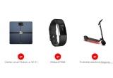 3 x Cantar smart Nokia cu Wi-Fi, 3 x Brațara FitBit, 3 x Trotineta electrica Segway