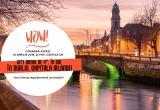 1 x city break de 4* la Dublin(4 nopți cazare la Hotel Pembroke Townhouse 4* cu mic dejun + biletul de avion + bagaj de mana 10 kg