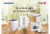 10 x set de electrocasnice mici de bucatarie HEINNER (Cafetiera + Fierbator apa + Prajitor paine)