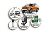 1 x masina Dacia Duster Prestige, 4 x Scooter Piaggio Typhoon, 16 x Espressor Gaggia Gran Deluxe, 150 x Espressor electric portabil, 500 x Kit Fortuna