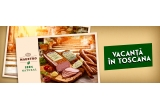 1 x excursie culinara in Toscana, 90 x cos cu produse Caroli de 100 lei